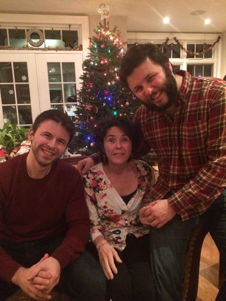 the stanford-fudurich family at Christmas