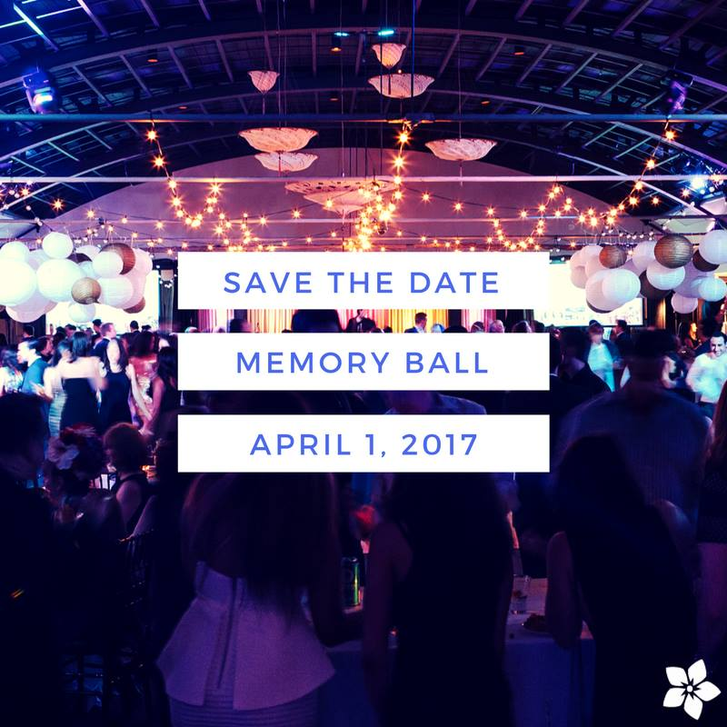 memory ball 2017 save the date April 1, 2017