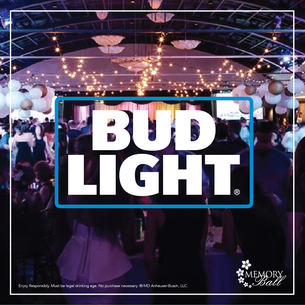 Bud Light is Memory Ball's 2017 Beer  Sponsor