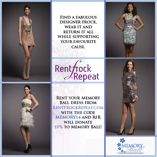 Rent Frock Repeat supports Memory Ball